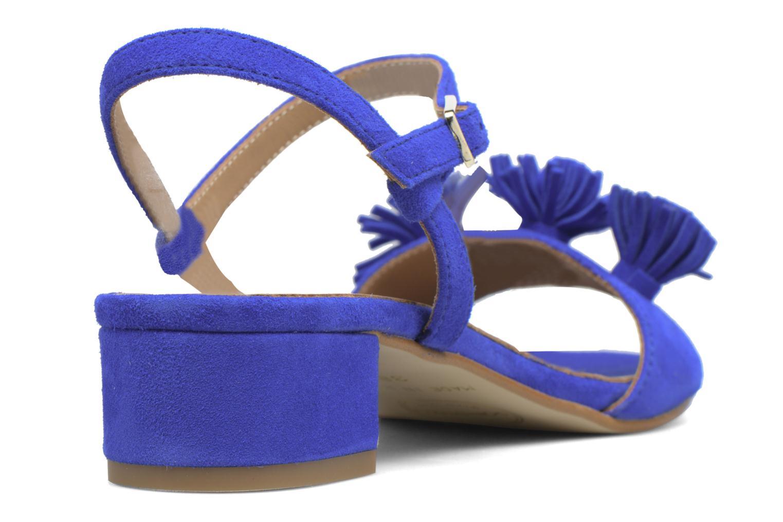Sandales et nu-pieds Made by SARENZA Frida Banana #16 Bleu vue face