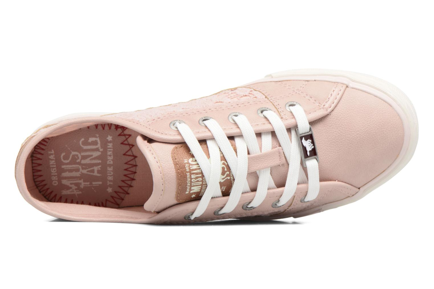 Baskets Mustang shoes Smith N Rose vue gauche