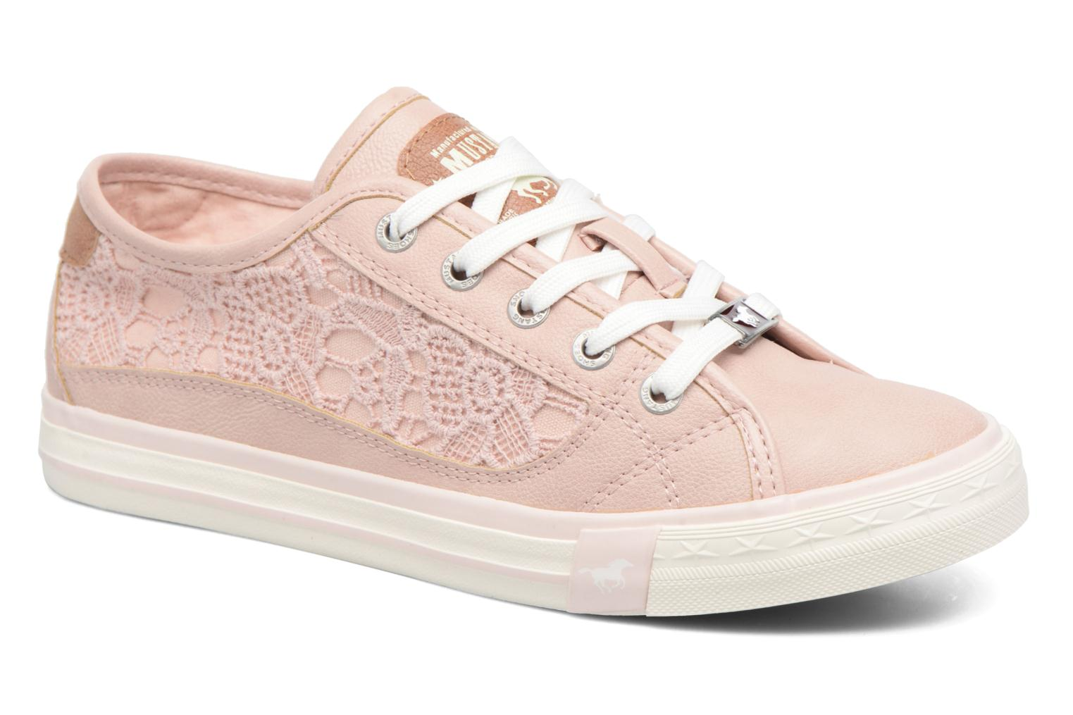 Baskets Mustang shoes Smith N Rose vue détail/paire