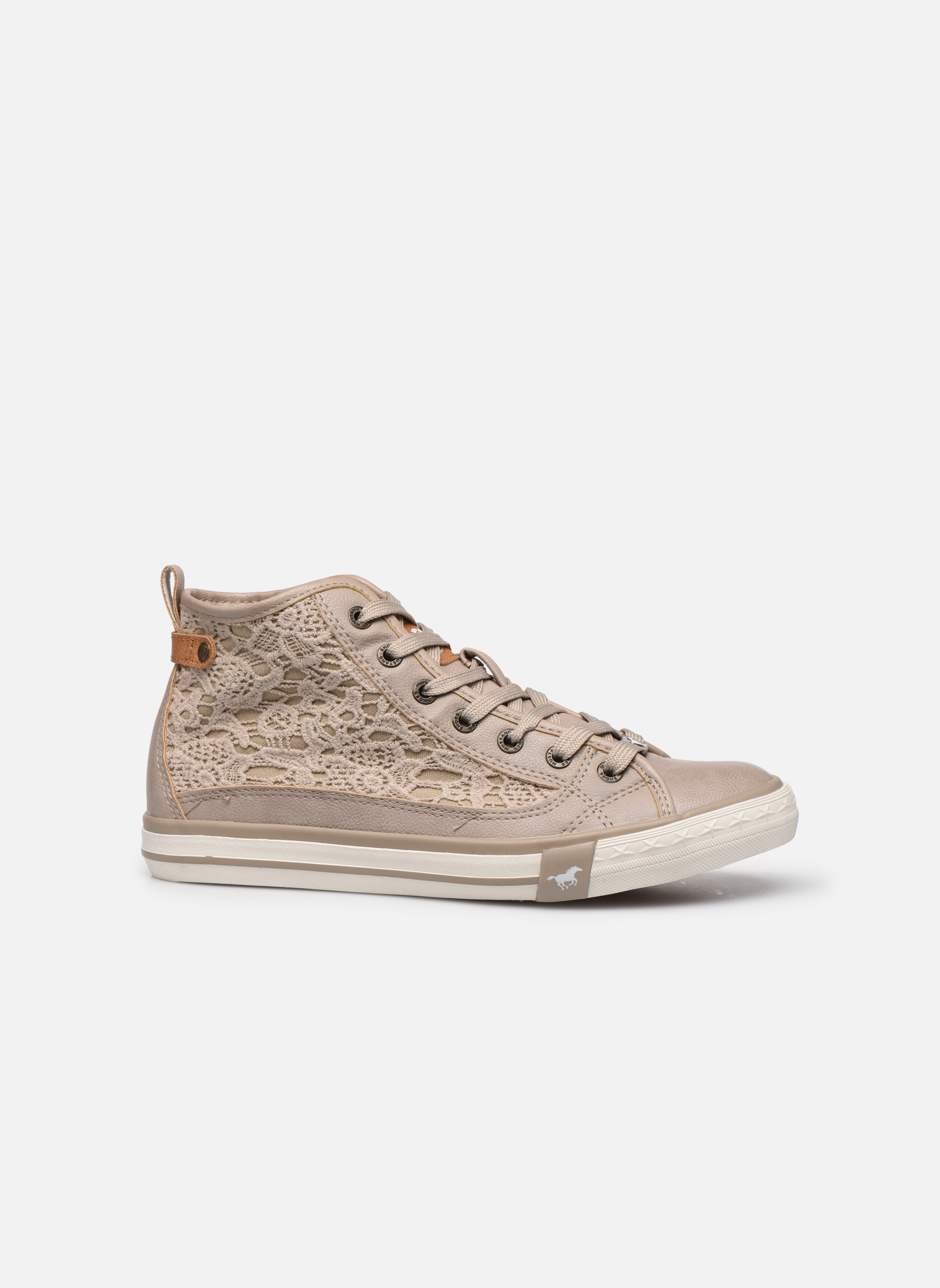 Sneakers Mustang shoes Nola Beige immagine posteriore