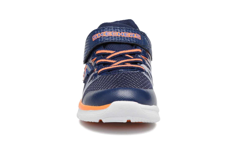 Baskets Skechers Skech-Lite Fast Stepz Bleu vue portées chaussures