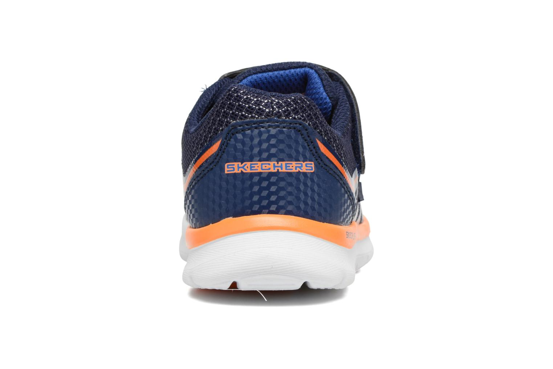 Baskets Skechers Skech-Lite Fast Stepz Bleu vue droite
