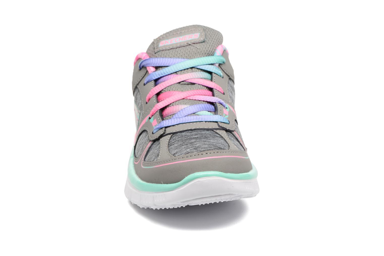 Baskets Skechers Skech Appeal 2 Gris vue portées chaussures