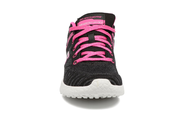 Baskets Skechers Burst 1 Noir vue portées chaussures