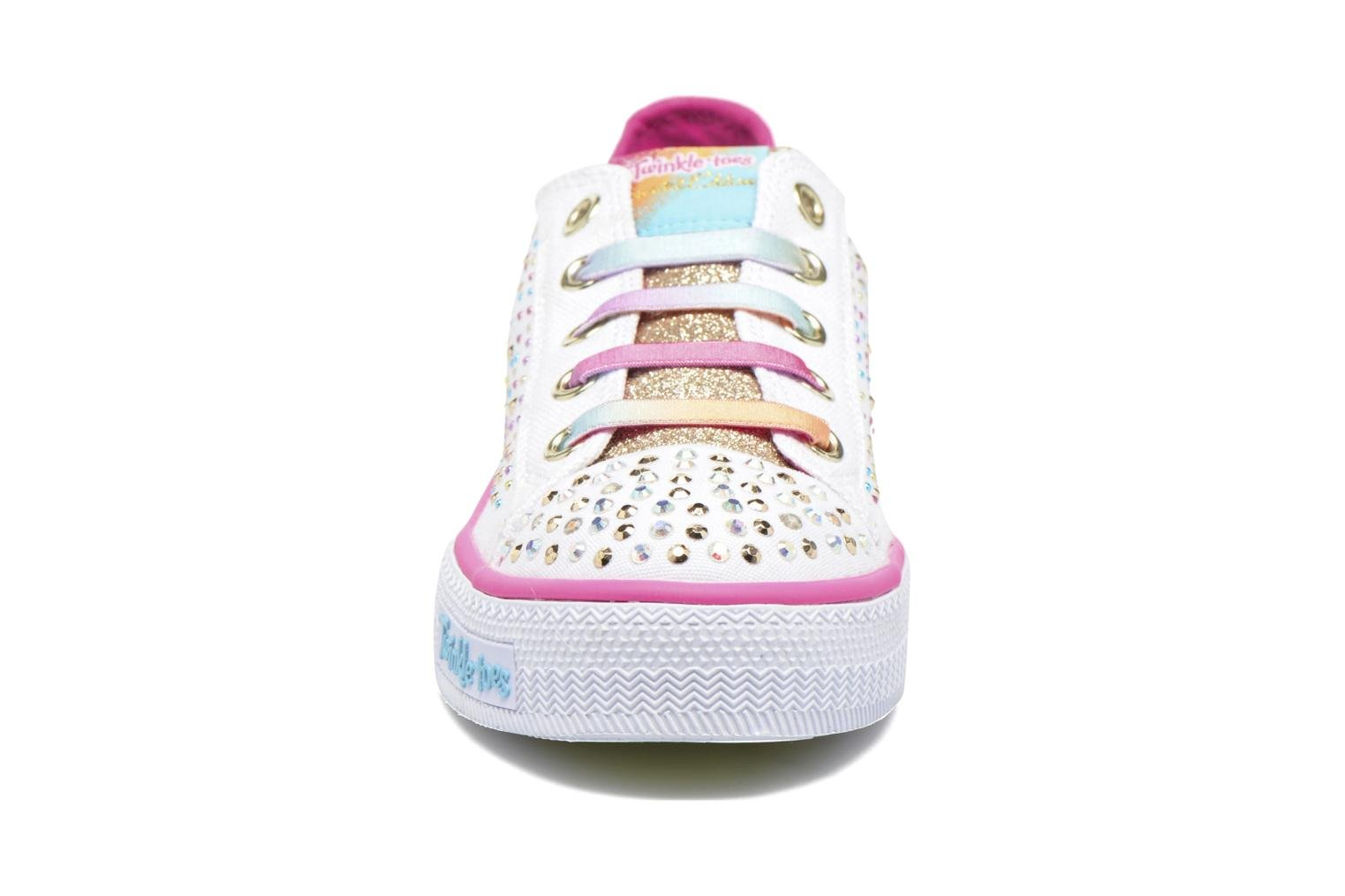 Shuffles Twirly Toes White/multicolor