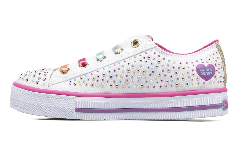 Sneaker Skechers Shuffles Twirly Toes mehrfarbig ansicht von vorne