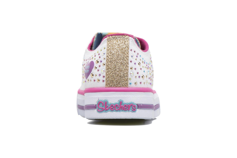 Sneaker Skechers Shuffles Twirly Toes mehrfarbig ansicht von rechts