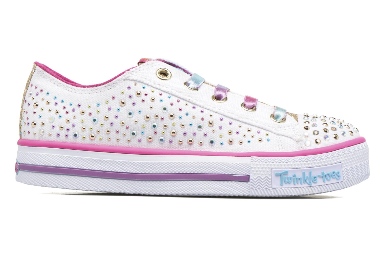Trainers Skechers Shuffles Twirly Toes Multicolor back view