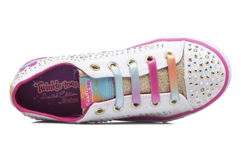 Sneaker Skechers Shuffles Twirly Toes mehrfarbig ansicht von links