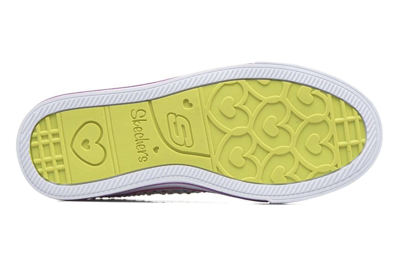 Sneaker Skechers Shuffles Twirly Toes mehrfarbig ansicht von oben