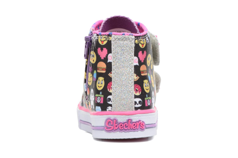 Baskets Skechers Shuffles Baby Talk Multicolore vue droite