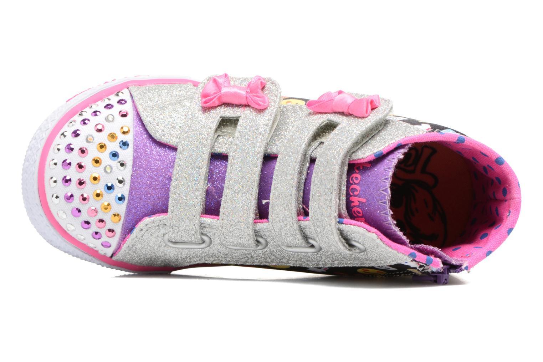 Baskets Skechers Shuffles Baby Talk Multicolore vue gauche