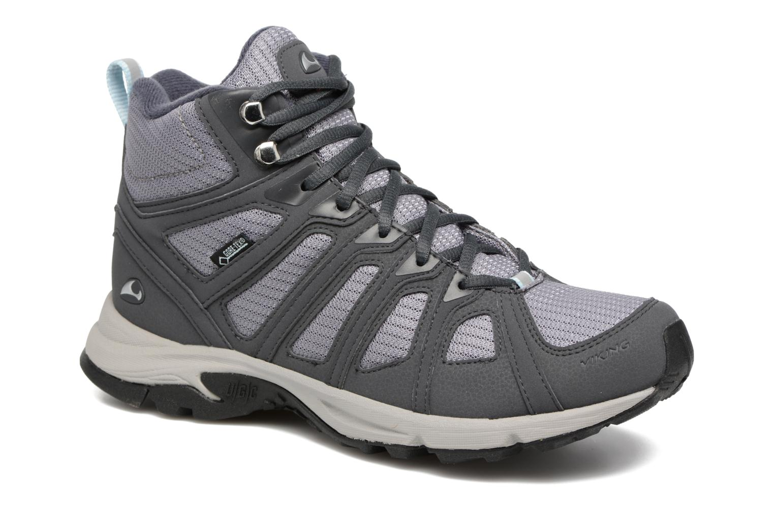 Sport shoes Viking IMPULSE MID W Grey detailed view/ Pair view
