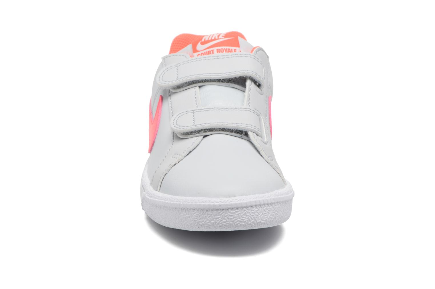 Nike Court Royale (Psv) Pure Platinum/Hot Punch-White