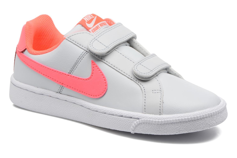 Nike Court Royale (Psv) Pure Platinum/Hot Punch-White