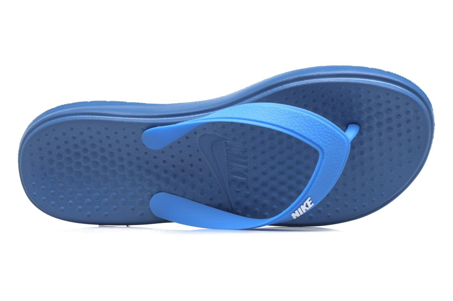 Infradito Nike Nike Solay Thong (Gs/Ps) Azzurro immagine sinistra