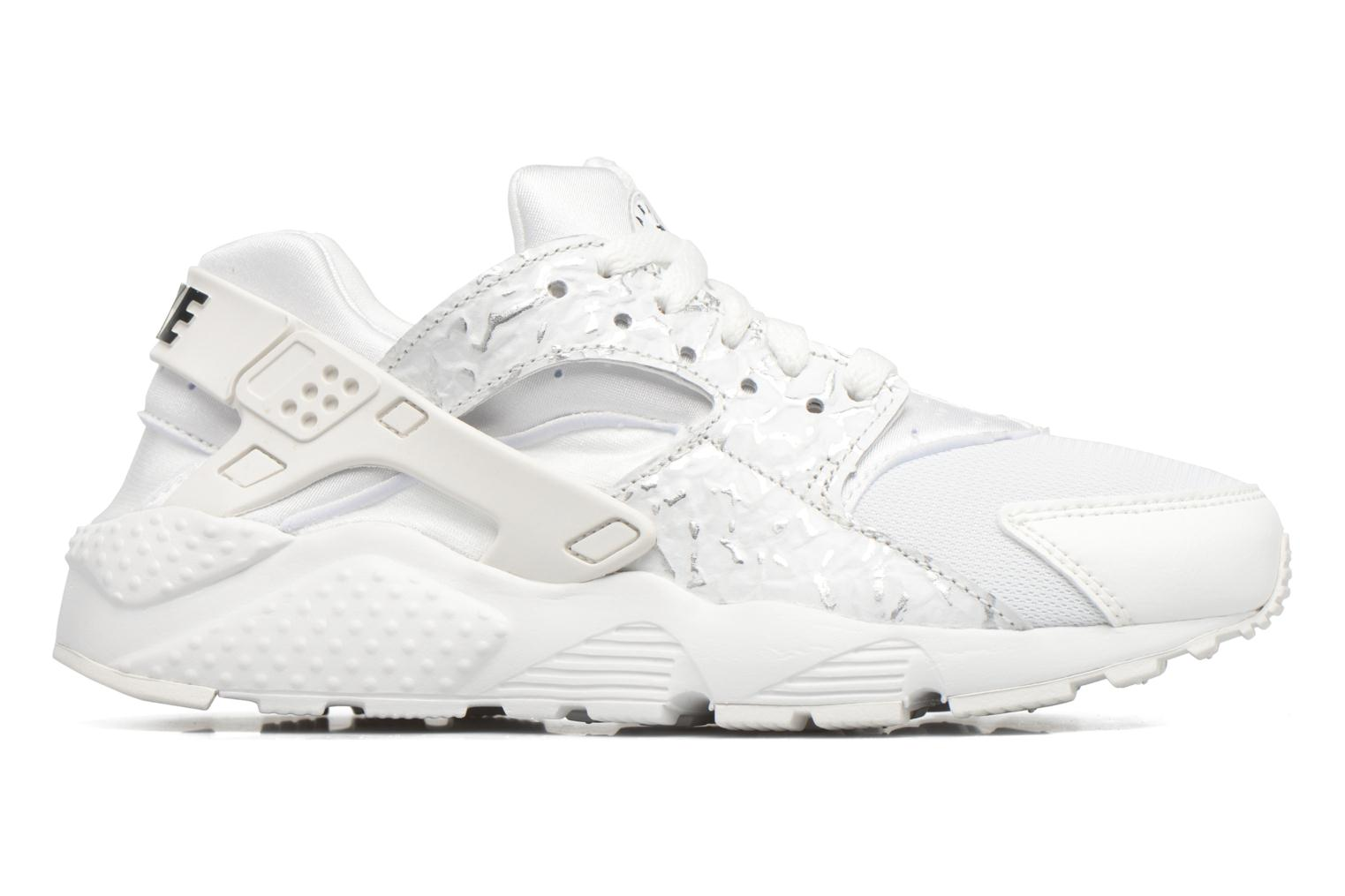 Nike Huarache Run Se (Gs) Summit White/Metallic Silver-Black