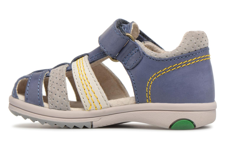 Sandalen Kickers Platiback Blauw voorkant