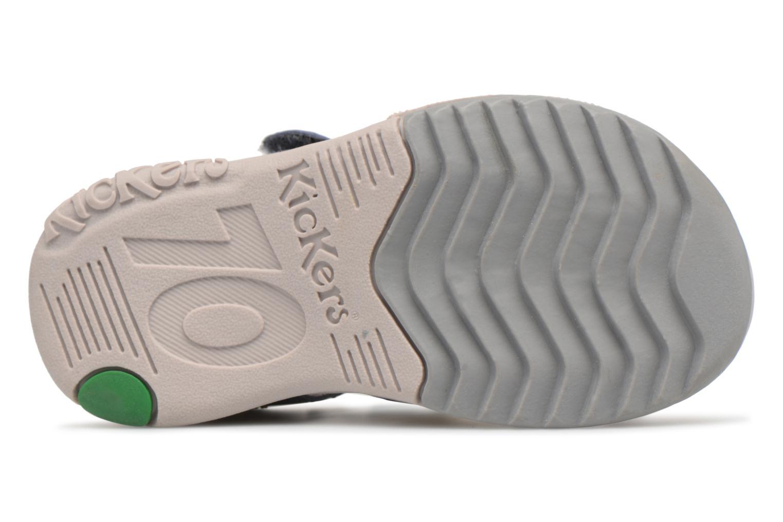 Sandalen Kickers Platiback Blauw boven