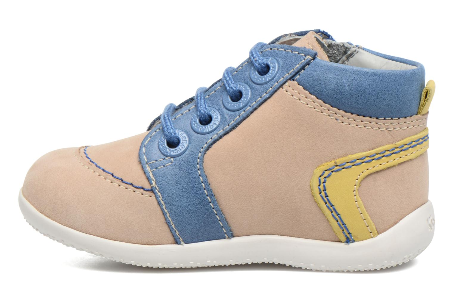 Baskets Kickers Bamby Beige vue face