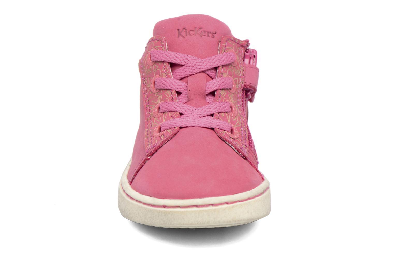 Sneaker Kickers Lylou rosa schuhe getragen