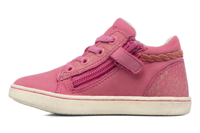 Sneaker Kickers Lylou rosa ansicht von vorne