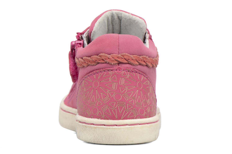 Sneaker Kickers Lylou rosa ansicht von rechts