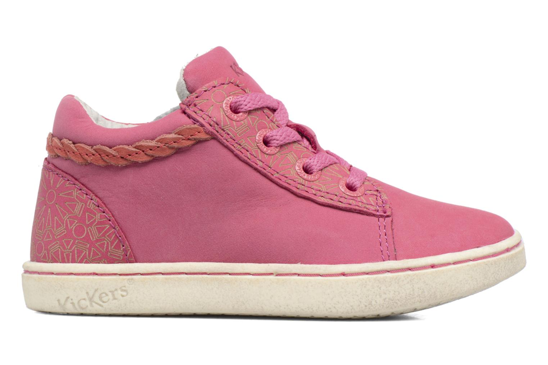 Sneaker Kickers Lylou rosa ansicht von hinten