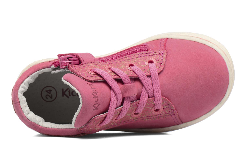 Sneaker Kickers Lylou rosa ansicht von links