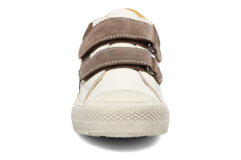 Baskets Kickers Barista Blanc vue portées chaussures