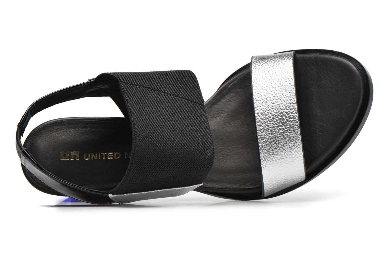 Sandalias United Nude Mid Rise Slingback Multicolor vista lateral izquierda