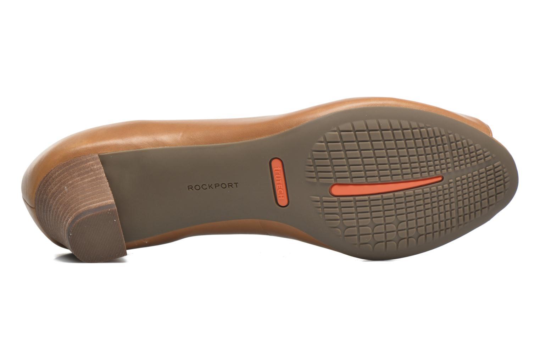 Zapatos de tacón Rockport Audrina Peep Marrón vista de arriba
