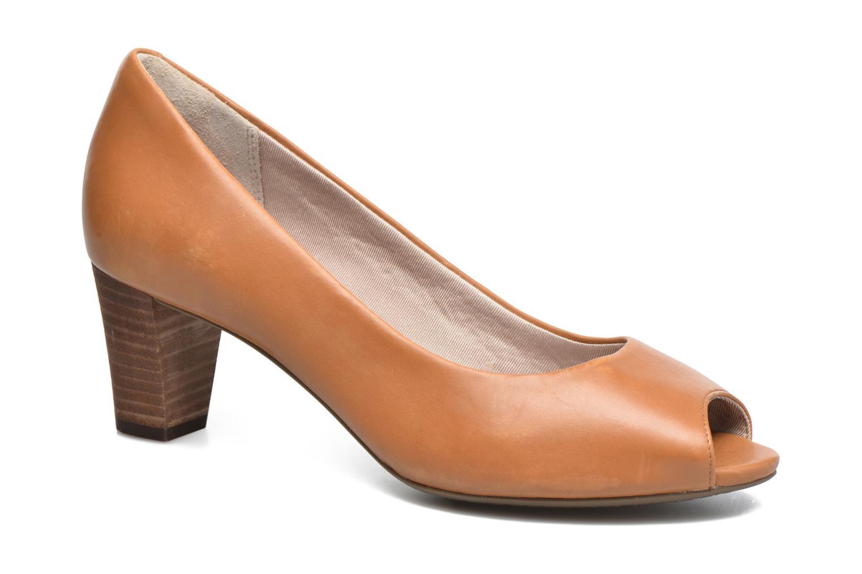 Zapatos de tacón Rockport Audrina Peep Marrón vista de detalle / par
