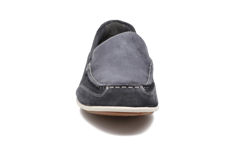 Mocassins Rockport Bl4 Venetian Bleu vue portées chaussures