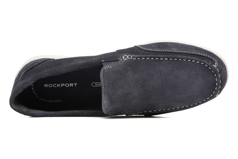 Mocassins Rockport Bl4 Venetian Bleu vue gauche