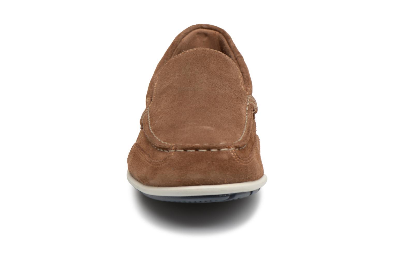 Mocassins Rockport Bl4 Venetian Marron vue portées chaussures