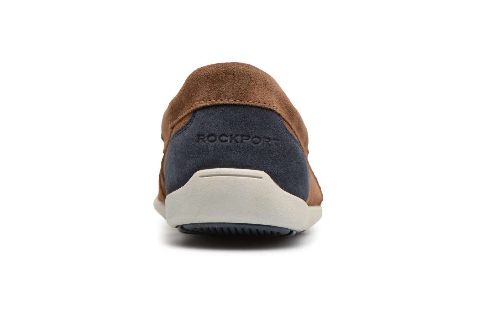 Mocasines Rockport Bl4 Venetian Marrón vista lateral derecha