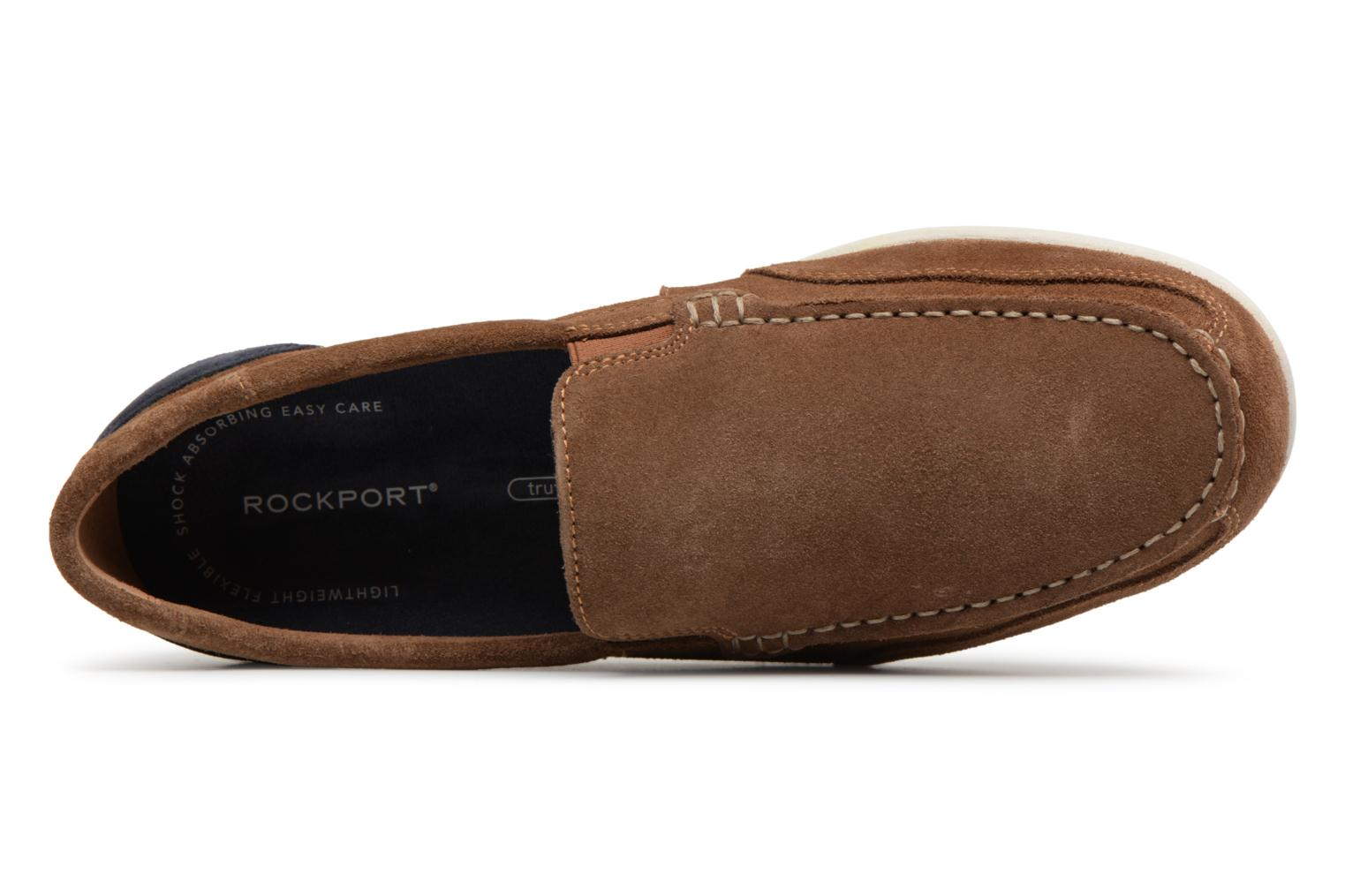 Loafers Rockport Bl4 Venetian Brown view from the left