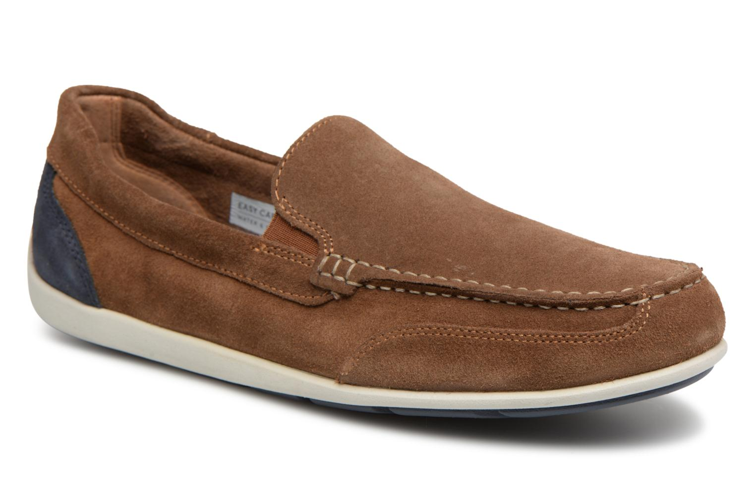 Loafers Rockport Bl4 Venetian Brown detailed view/ Pair view
