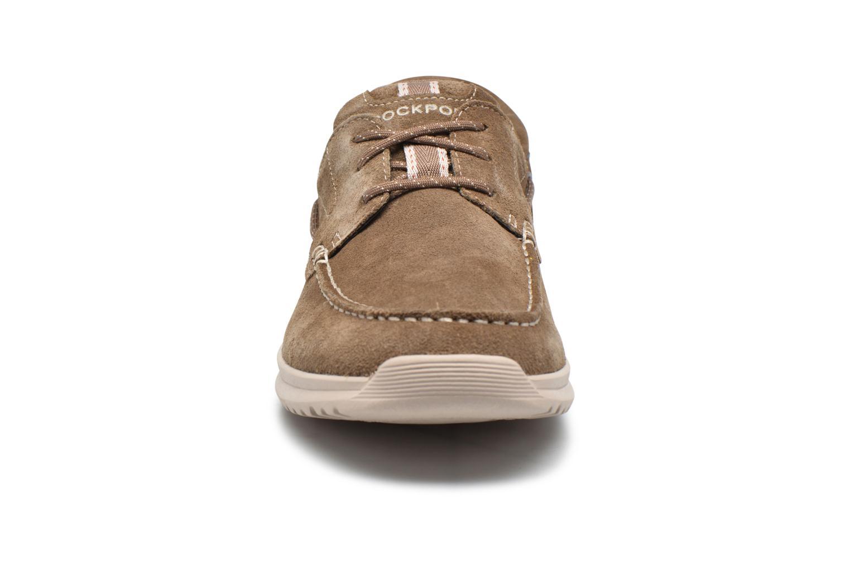 Chaussures à lacets Rockport Langdon 3 Eye Ox Marron vue portées chaussures