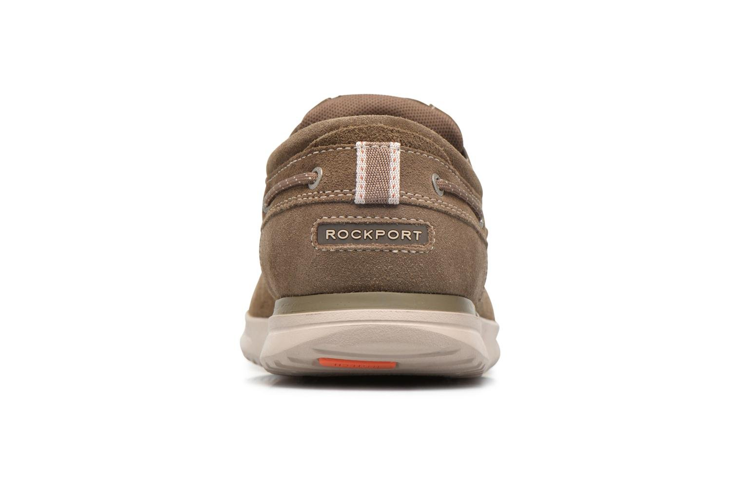 Zapatos con cordones Rockport Langdon 3 Eye Ox Marrón vista lateral derecha