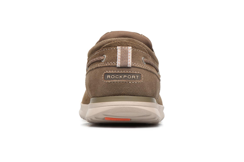 Chaussures à lacets Rockport Langdon 3 Eye Ox Marron vue droite