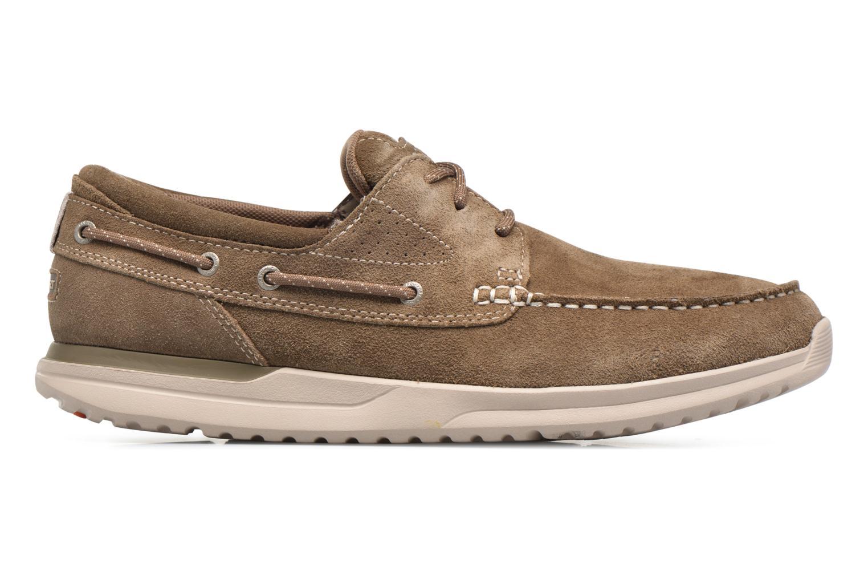 Zapatos con cordones Rockport Langdon 3 Eye Ox Marrón vistra trasera