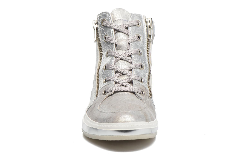 Baskets Khrio Canella Argent vue portées chaussures