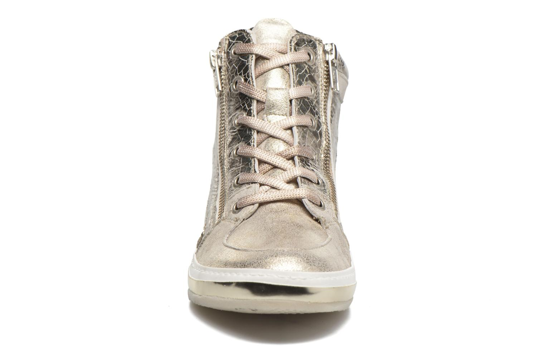 Baskets Khrio Canella Beige vue portées chaussures