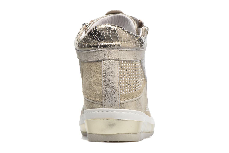 Baskets Khrio Canella Beige vue droite