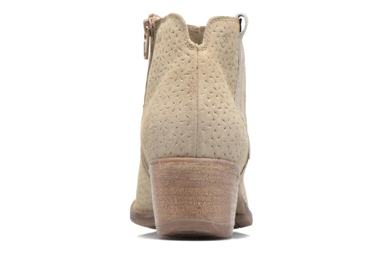 Bottines et boots Khrio Clarina Beige vue droite