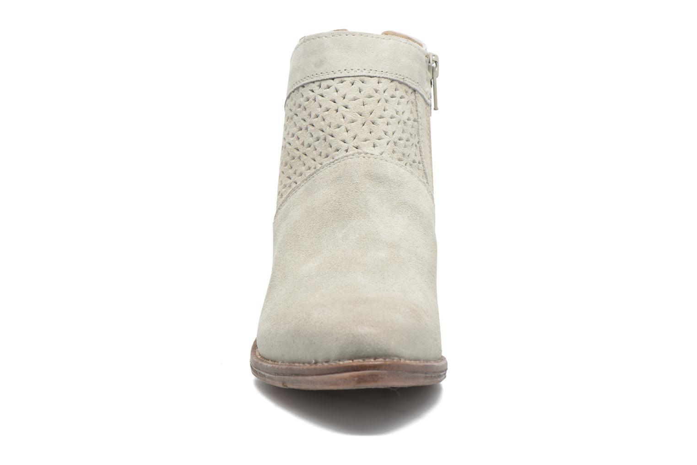 Bottines et boots Khrio Clemie Beige vue portées chaussures
