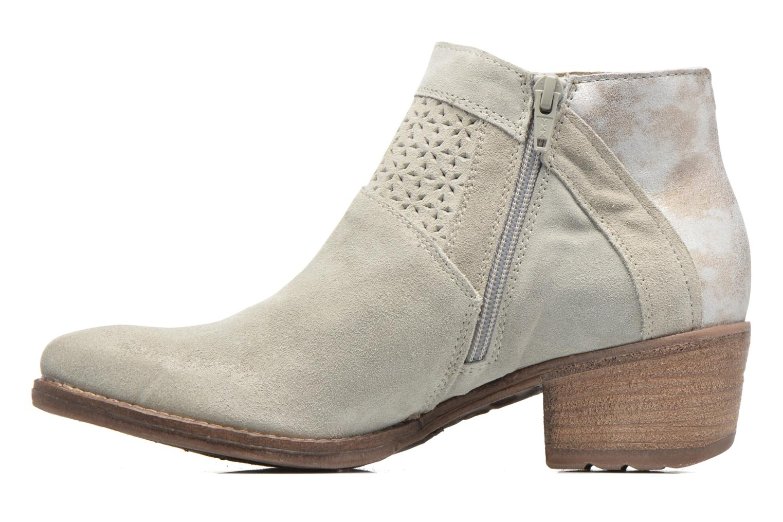 Ankle boots Khrio Clemie Beige front view