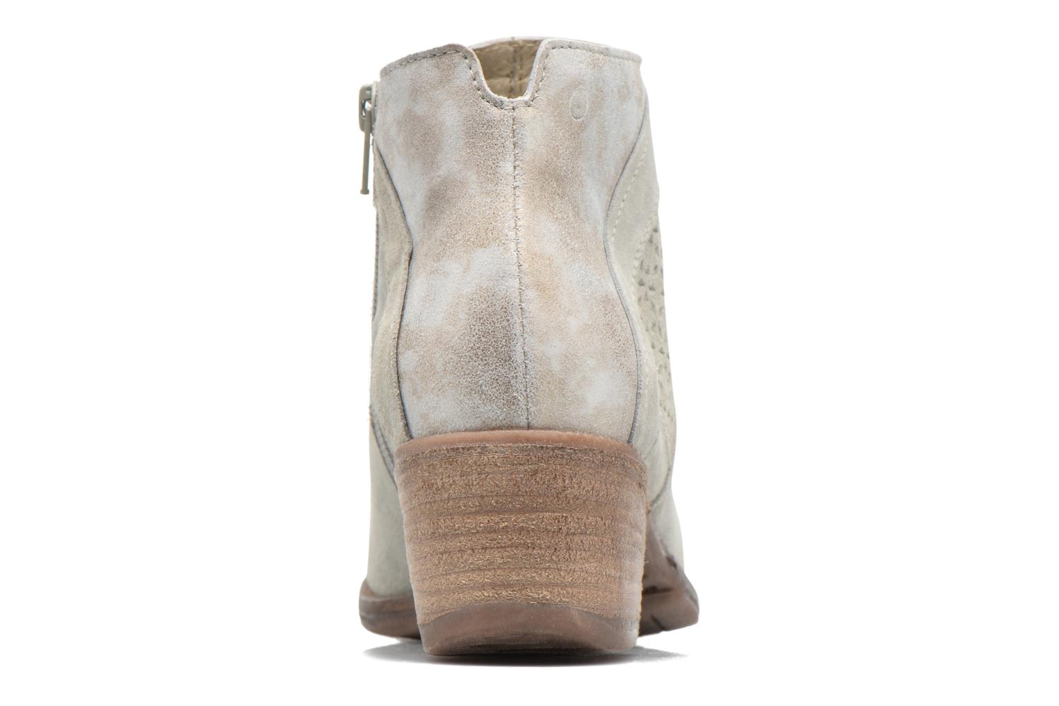 Ankle boots Khrio Clemie Beige view from the right